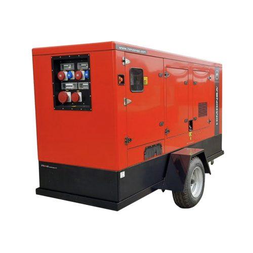 trailermonteret generator