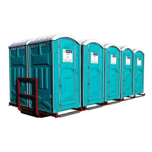 Kroghejsramme med 10 wc
