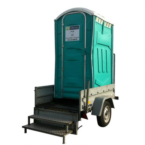 Hent selv trailer m/1 wc