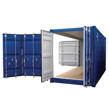 20' Container open side